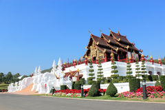 Horkumluang Gold Castle Of Chiangmai Thailand Royalty Free Stock Photography