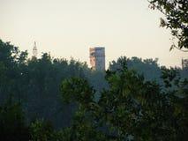 Horlivka, Украина, химический завод - август 2013 Стоковое Фото