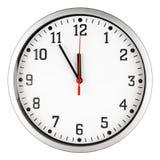 horloge 5 à 12 Image stock