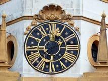 Horloge à Prague Photo libre de droits