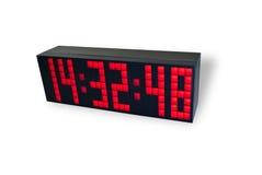 Horloge électronique Photos libres de droits
