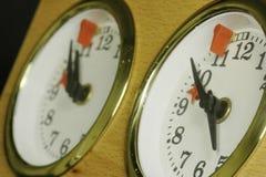 Horloge 02 d'échecs Image libre de droits
