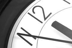 horloge 12 Photo libre de droits