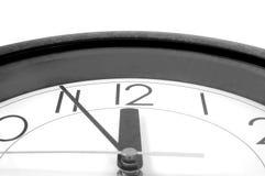 horloge 12 Image libre de droits