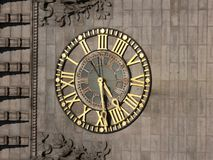 Horloge - or images stock