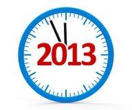 Horloge 2013, entière Photographie stock