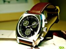 Horloge Stock Afbeelding