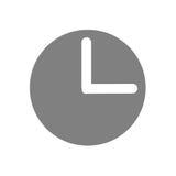 Horloge illustration de vecteur