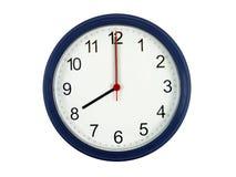 Horloge affichant 8 heures Photographie stock libre de droits