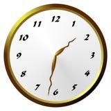 Horloge analogique Image stock