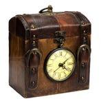 Horloge, antigue clok Stock Foto's