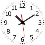 Horloge antique Images libres de droits