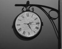 Horloge antique Photographie stock libre de droits