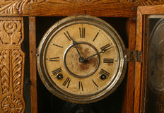 Horloge antique Photo libre de droits
