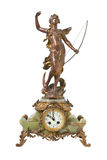 Horloge antique de cru Photographie stock libre de droits