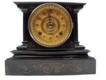 Horloge antique de manteau Photo stock