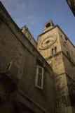 Horloge antique du soleil Image libre de droits