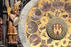 Horloge astrologique Images stock