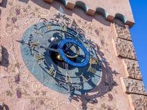 Horloge astrologique, Fantasyland Photos libres de droits