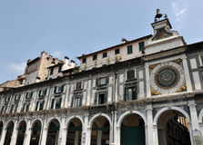 Horloge astronomique à Brescia Image stock
