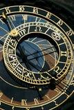 Horloge astronomique à Prague photographie stock