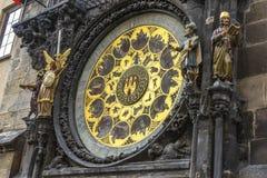 Horloge astronomique à Prague Image stock