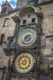 Horloge astronomique à Prague Photos libres de droits
