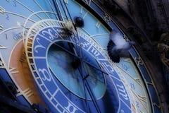 Horloge astronomique à Prague photo libre de droits