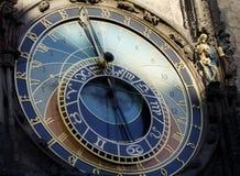 Horloge astronomique à Prague Photo stock