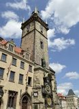 Horloge astronomique à Prague, République Tchèque Photographie stock libre de droits
