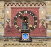 Horloge astronomique photo stock