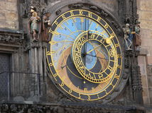 Horloge astronomique Photographie stock
