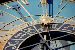 Horloge astronomique Image libre de droits