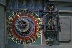 Horloge astronomique, Berne image stock