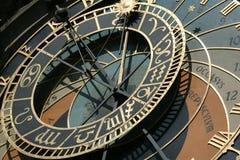 Horloge astronomique de Prague images libres de droits