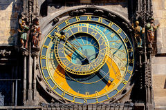Horloge astronomique de Prague Photographie stock