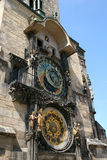 Horloge astronomique de Prague Photo stock