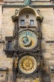 Horloge astronomique de Prague Photos stock