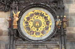 Horloge astronomique de Prague Photographie stock libre de droits