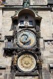Horloge astronomique de Prague Photo stock