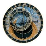 Horloge astronomique de Prague image libre de droits