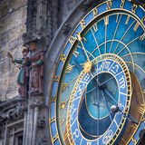 Horloge astronomique 1 de Prague Images libres de droits