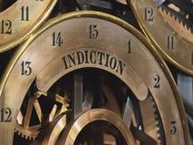 Horloge astronomique m?di?vale dans la cath?drale de Strasbourg image stock