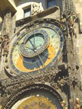 Horloge astronomique ou horloge astronomique de Prague Photo stock