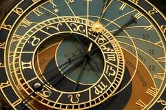 Horloge astronomique Prague Images libres de droits