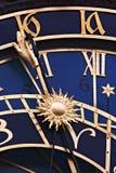 Horloge astronomique, Prague Image stock