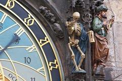 Horloge astronomique, Prague Image libre de droits