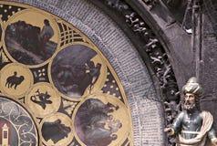 Horloge astronomique, Prague Photographie stock libre de droits