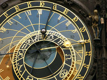 Horloge astronomique, Prague Photo stock