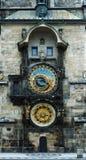 horloge astronomique Prague Image stock